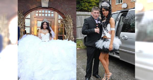 Czy to NAJBRZYDSZA suknia ślubna na świecie? Przyszła panna młoda jest nią zachwycona!