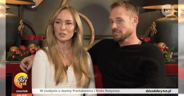 """Joanna Przetakiewicz i Rinke Rooyens OFICJALNIE RAZEM w """"DD TVN""""! Czułościom nie było końca!"""