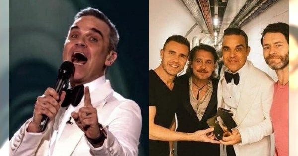 Robbie Williams chciał zrobić fanom miłą niespodziankę. Dołączył do Take That na scenie, a potem... O nie!