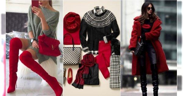 Czerwień nie tylko na święta. Zobaczcie, jak modnie wpleść ją w zimowe stylizacje