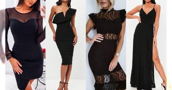 Czarne sukienki na studniówkę 2019. Przeglądamy najładniejsze modele ze sklepów internetowych
