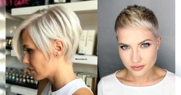 20 krótkich fryzur dla blondynek - galeria stylowych cięć