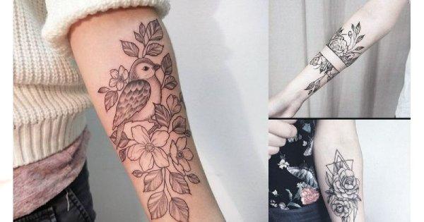 Tatuaż na przedramieniu – supermodne wzory dla dziewczyn