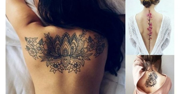 Magiczne Tatuaże Na Plecy 2019 Piękne I Zmysłowe Wzory Dla