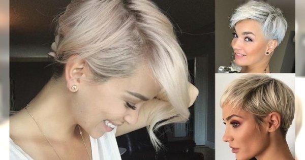 Fryzury krótkie - 18 zjawiskowych cięć dla kobiet o jasnych włosach!