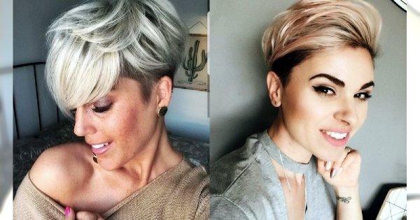 Odmładzające fryzury krótkie - galeria najmodniejszych cięć 2019