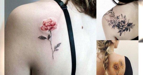 Tatuaż na łopatce - galeria najpiękniejszych wzorów z sieci