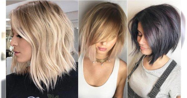 Modne Fryzury średnie 2019 Włosy Do Ramion Jeszcze Nigdy