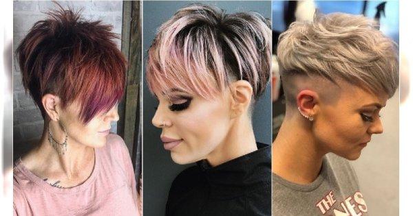 Krótkie fryzury z grzywką 2019 - modne cięcia, największe trendy. ZOBACZCIE!