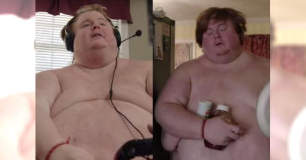 Ma dopiero 34 lata, a jego waga już przekracza 300 kilogramów! To CUD, że porusza się jeszcze samodzielnie!