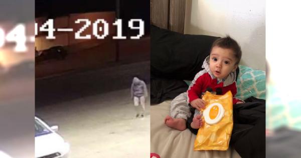 Kamery monitoringu zarejestrowały moment UPROWADZENIA dziecka!