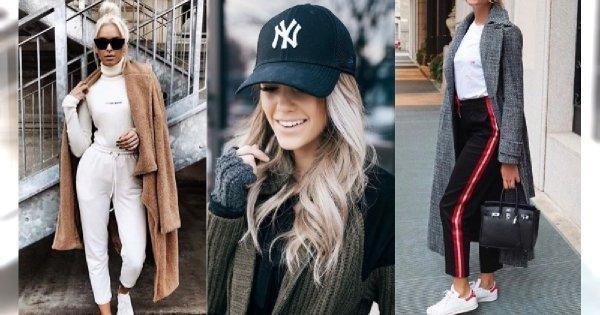 Trend zimy 2019: Sporty Casual. Sportowa elegancka prosto z ulicy