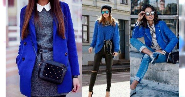Stylizacje z niebieskim są hitem sezonu! Jak modnie wpleść ten kolor do codziennego stroju?