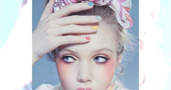 Pastelowy makijaż - wiosenne inspiracje