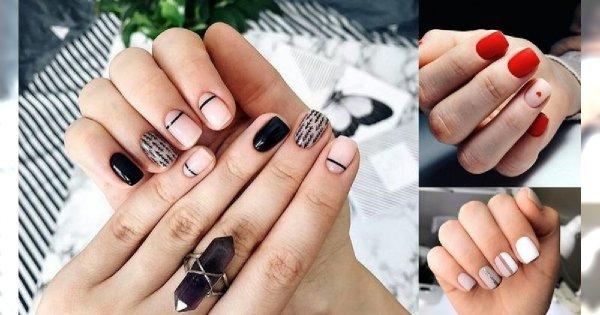 Manicure dla krótkich paznokci - galeria ślicznych zdobień