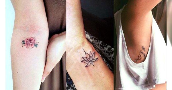 Małe tatuaże - 30 uroczych i dziewczęcych wzorów