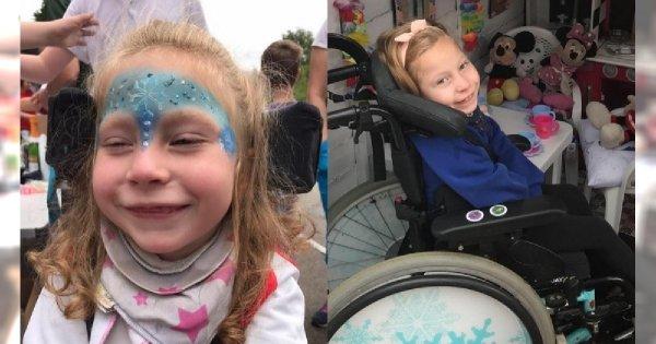 Ta dziewczynka urodziła się w pełni zdrowa. Jej niepełnosprawność jest skutkiem lekkomyślności i niewiedzy...