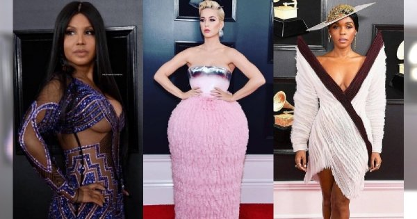 Suknie za tysiące dolarów, których nie założyłybyście za nic na świecie! Oto dziwny pokaz mody z gali Grammy!