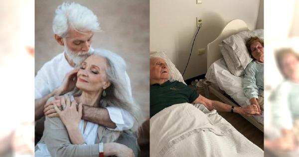 Małżeństwo żyło wspólnie przez 70 lat. Odeszło samotnie, trzymając się za ręce...
