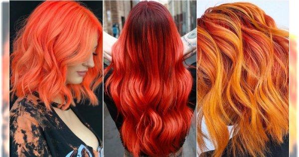 637ab49c381ff7 Modne kolory włosów 2019: rudości i czerwienie w najpiękniejszym wydaniu
