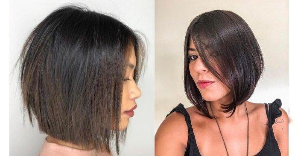 średnie Fryzury 2019 Modne Cięcia Dla Włosów Do Ramion