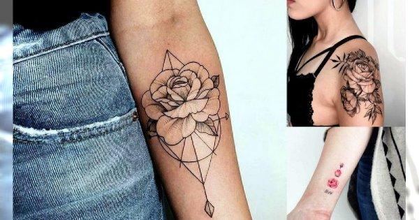 Tatuaż Róża Galeria Różnorodnych I Ultrakobiecych Wzorów