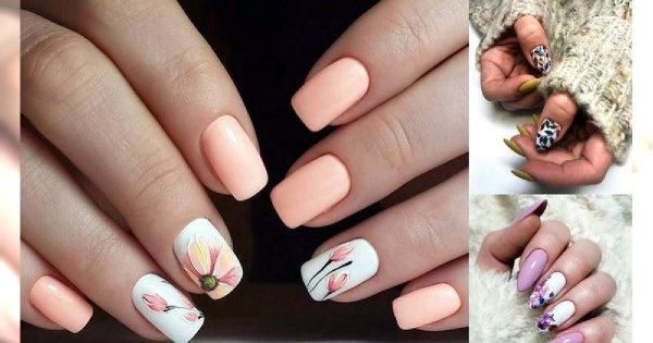 Wiosenne inspiracje na kwiecisty manicure - odsłony 2019