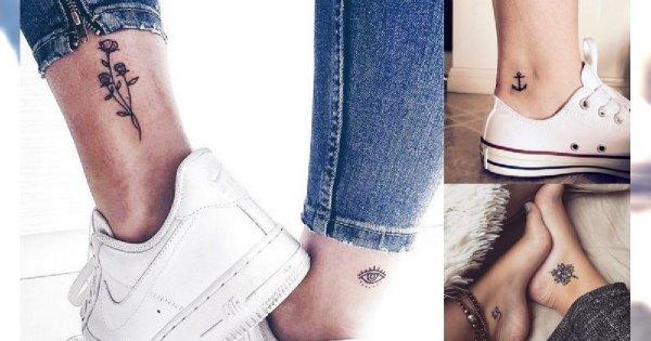 Tatuaż w okolicy kostki - 30 unikatowych i subtelnych wzorów