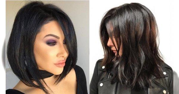 Fryzury cieniowane - najpiękniejsze fryzury dla włosów do ramion. Zakochacie się w tych cięciach!