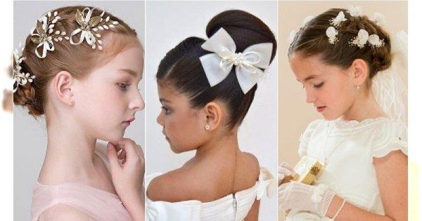 Fryzury Komunijne 2019 Fryzury Dla Dziewczynek Na Pierwszą