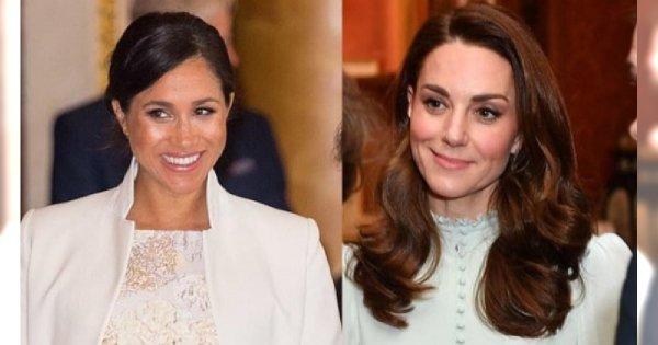 """""""Sztuczna"""" Meghan i Kate """"w koszuli nocnej"""" na jednej imprezie! Która Waszym zdaniem lepiej wyglądała?"""