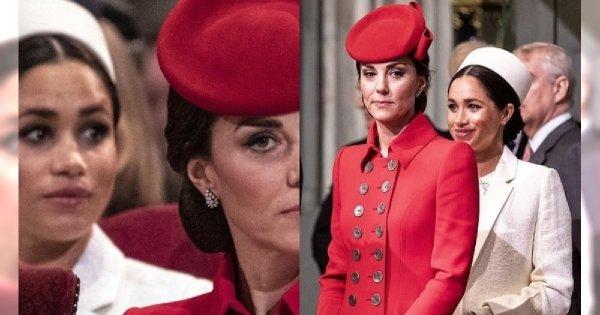 Księżne Meghan i Kate spotkały się podczas oficjalnej uroczystości i nie uwierzycie, co zrobiły!
