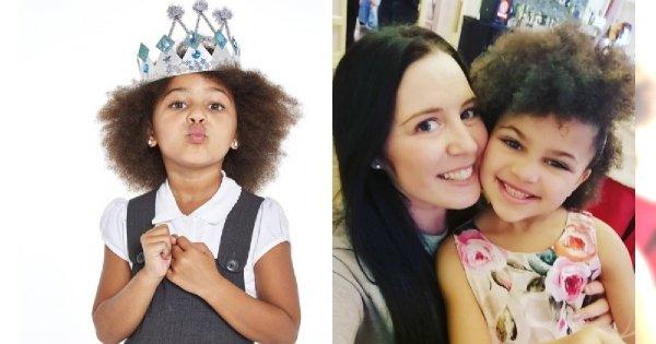 """Mama twierdzi, że jej sześcioletnia córeczka nie jest za młoda na makijaż i pracę modelki! """"Do niczego jej nie zmuszałam"""", zapewnia"""