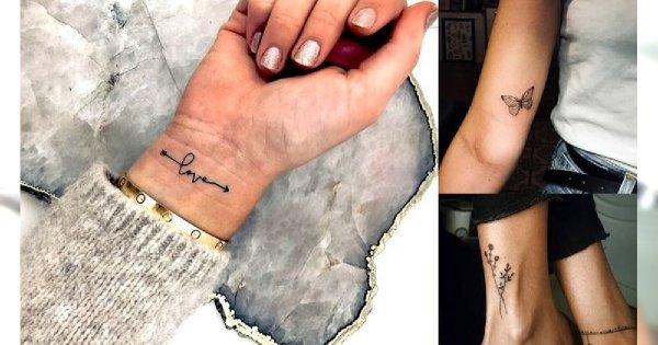 Małe tatuaże - 30 subtelnych i dziewczęcych wzorów
