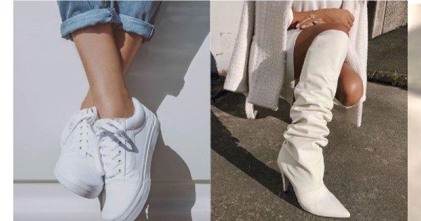 eb1fb6e31e7122 Białe buty - must have na sezon wiosna-lato 2019. Jak nosić białe buty?