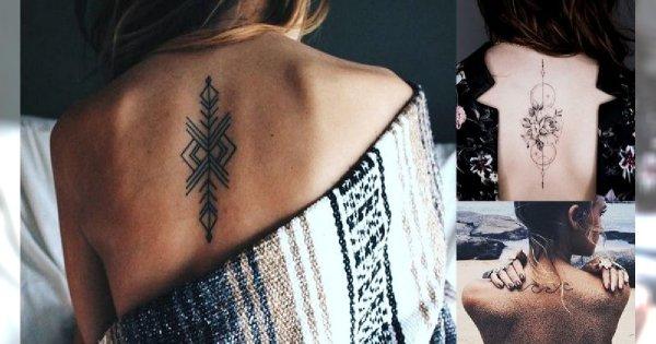 Magiczne tatuaże na plecy - 21 pięknych i zmysłowych wzorów dla kobiet