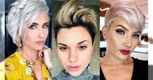 Galeria krótkich fryzur - 18 ultramodnych cięć dla blondynek