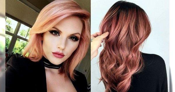 Rose gold - piękna i charyzmatyczna koloryzacja włosów
