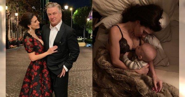Żona Aleca Baldwina pokazała na Instagramie, jak doświadcza PORONIENIA! Kobiety dziękują jej za to zdjęcie!