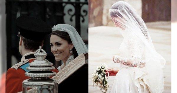Od ślubu Williama i Kate minęło równo osiem lat! A my przypominamy ich najpiękniejsze ślubne zdjęcia!