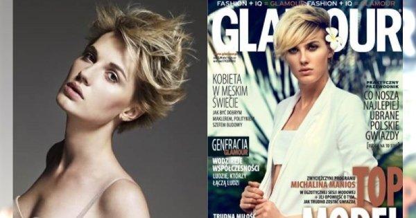 """Pamiętacie hermafrodytyczną Michalinę Manios z """"Top Model""""? Dziś byście jej nie poznali! Zmiana jest fenomenalna"""