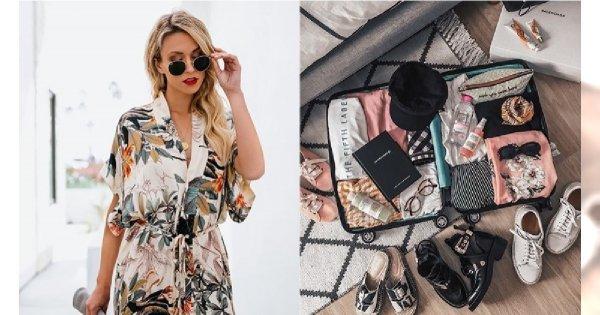 Modowy must have na majówkę 2019 - co spakować do walizki?