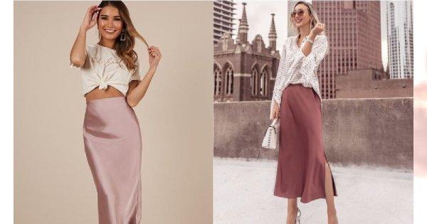 Slip skirt - bieliźniana spódnica, która podbija świat mody [trendy wiosna-lato 2019]