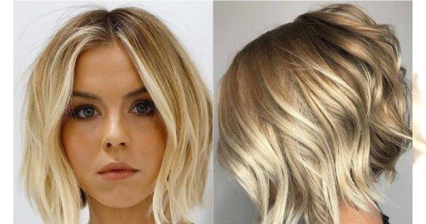 Krótkie Fryzury Dla Blondynek W Romantycznym Wydaniu Modne