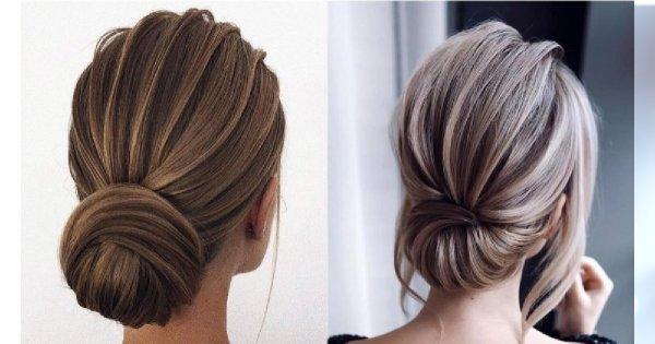 Minimalistyczne upięcia - eleganckie fryzury idealne na Wielkanoc 2019