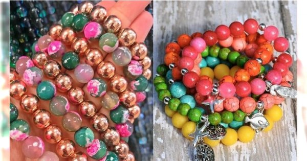 Kolorowa biżuteria z koralików - stylowy dodatek na wiosnę i lato 2019