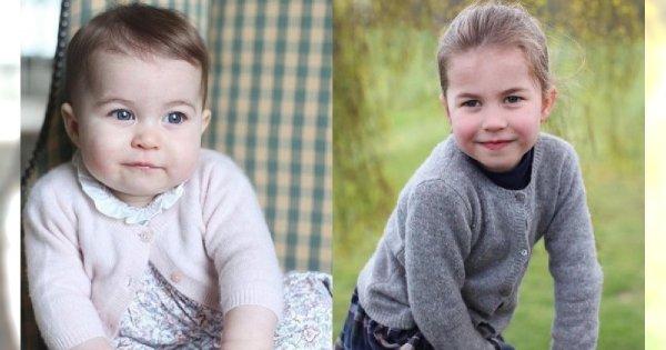 Księżniczka Charlotte kończy cztery lata! Do kogo bardziej podobna: do taty, mamy, babci, czy prababci?