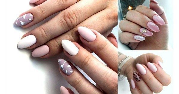Różowy manicure w modnych odsłonach - galeria 2019