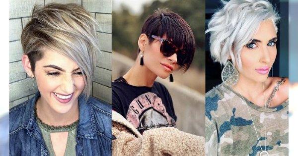 Krótkie fryzury z grzywką na bok – garść propozycji dla wymagających kobiet