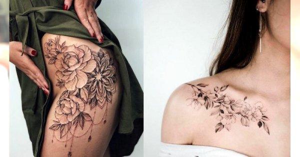 Kobiece tatuaże 2019 - aż 35 unikatowych wzorów